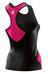 Skins TRI400 Racer Back Top Women black/pink